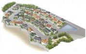 住宅鳥瞰パース制作例3