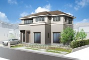 住宅戸建てパース制作例1
