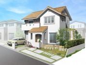 住宅戸建てパース制作例2