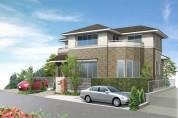 住宅戸建てパース制作例4