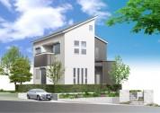 住宅戸建てパース制作例5