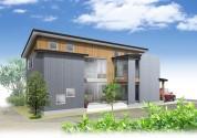 住宅戸建てパース制作例6