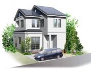 住宅戸建てパース制作例8