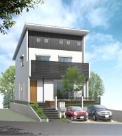 住宅戸建てパース制作例9