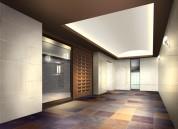 エントランスホール2 マンション用パース制作例
